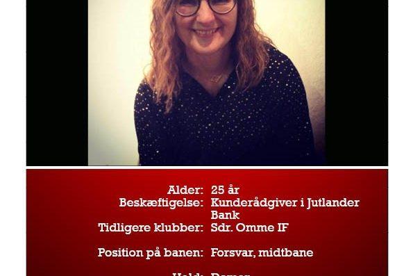 Heidi er ny i DGL2000. I kan møde hende her.