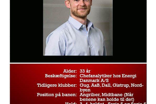 Lasse er ny i DGL 2000. Læs mere om ham her: