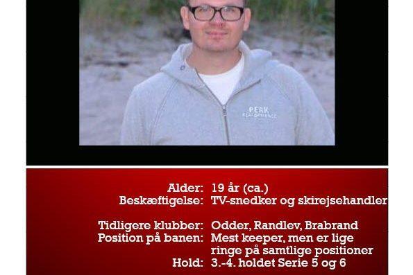 Morten er også begyndt i DGL i år. Måske kan du lære ham at kende bedre her.