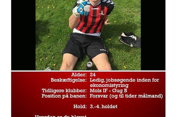Næste spillerpræsentation er af Jesper. Se mere her: