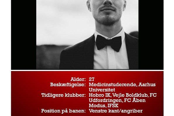 Nicolaj er også ny i DGL. Her kan I læse mere om ham.
