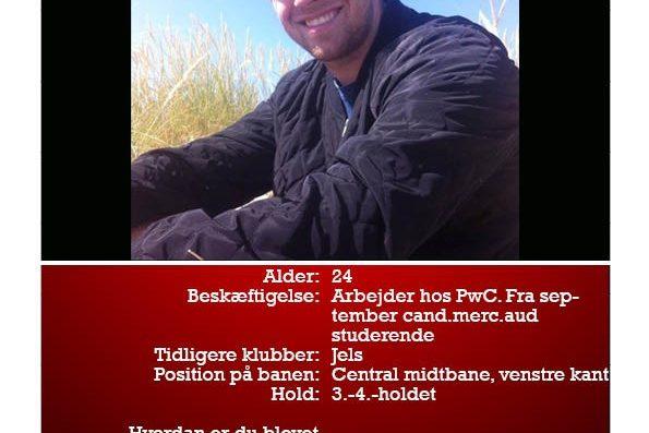 Kristian er ny i DGL. Læs om ham her og mød ham til træningsopstart d. 25. juli